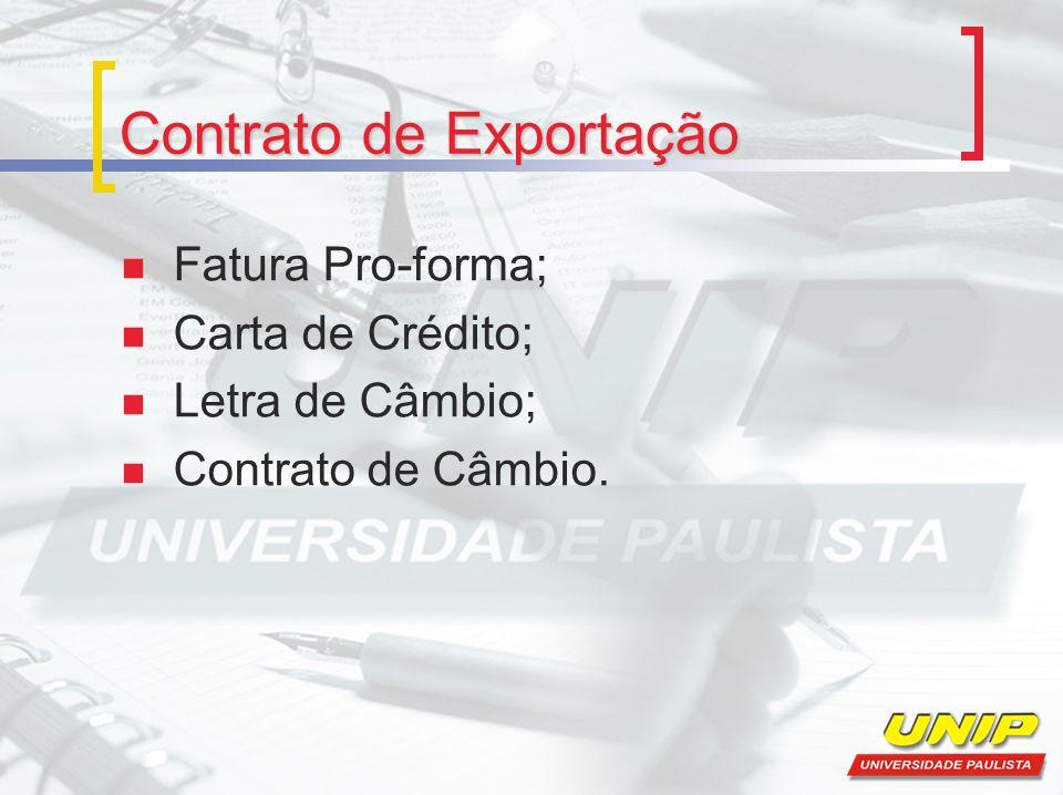 Contrato de Exportação