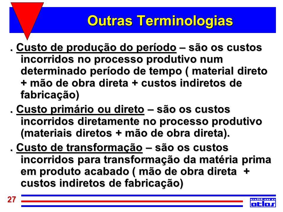 Outras Terminologias