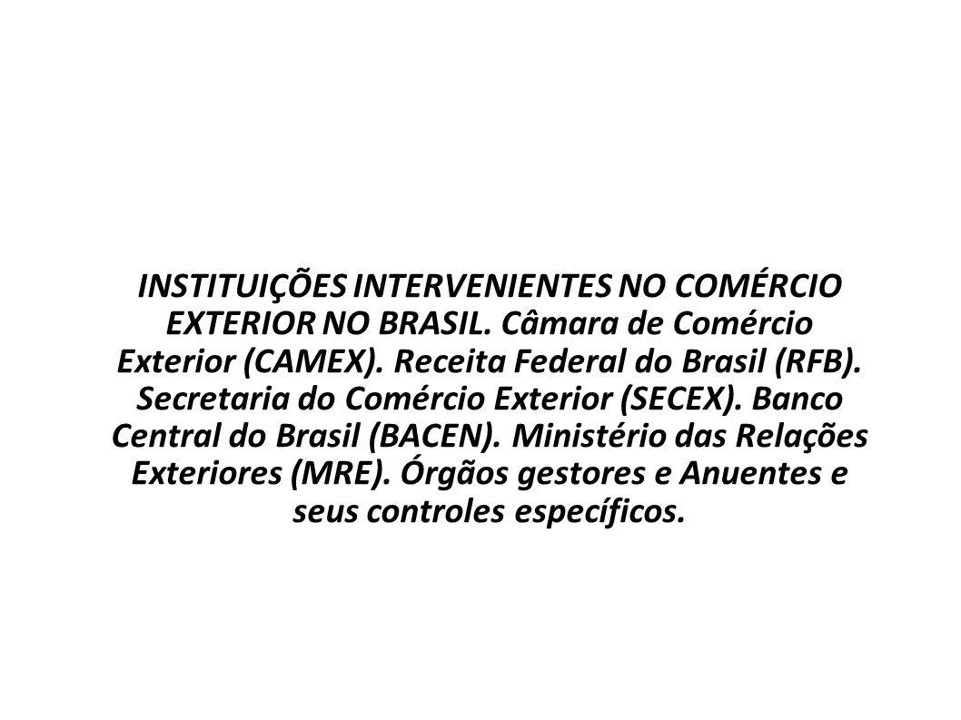COMÉRCIO INTERNACIONAL Prof. Uziel Santana