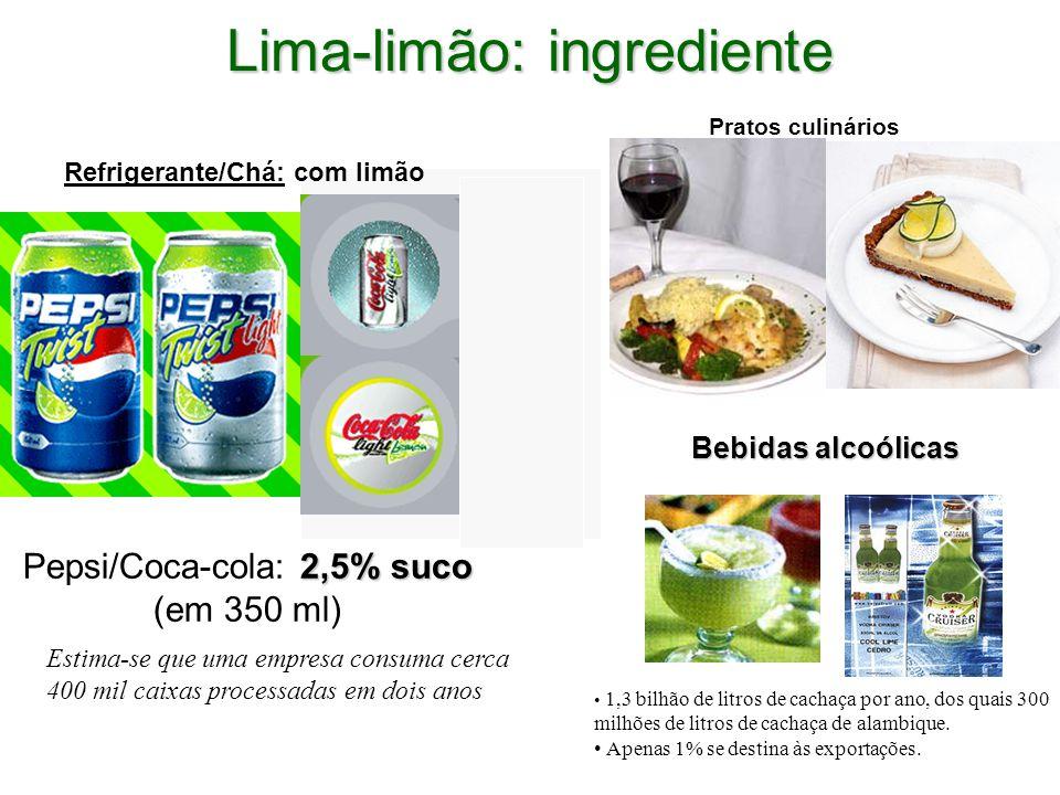 Lima-limão: ingrediente