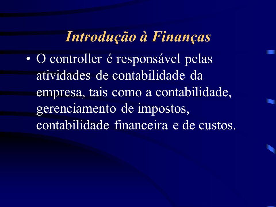 Introdução à Finanças