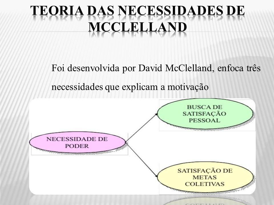Teoria das Necessidades de Mcclelland