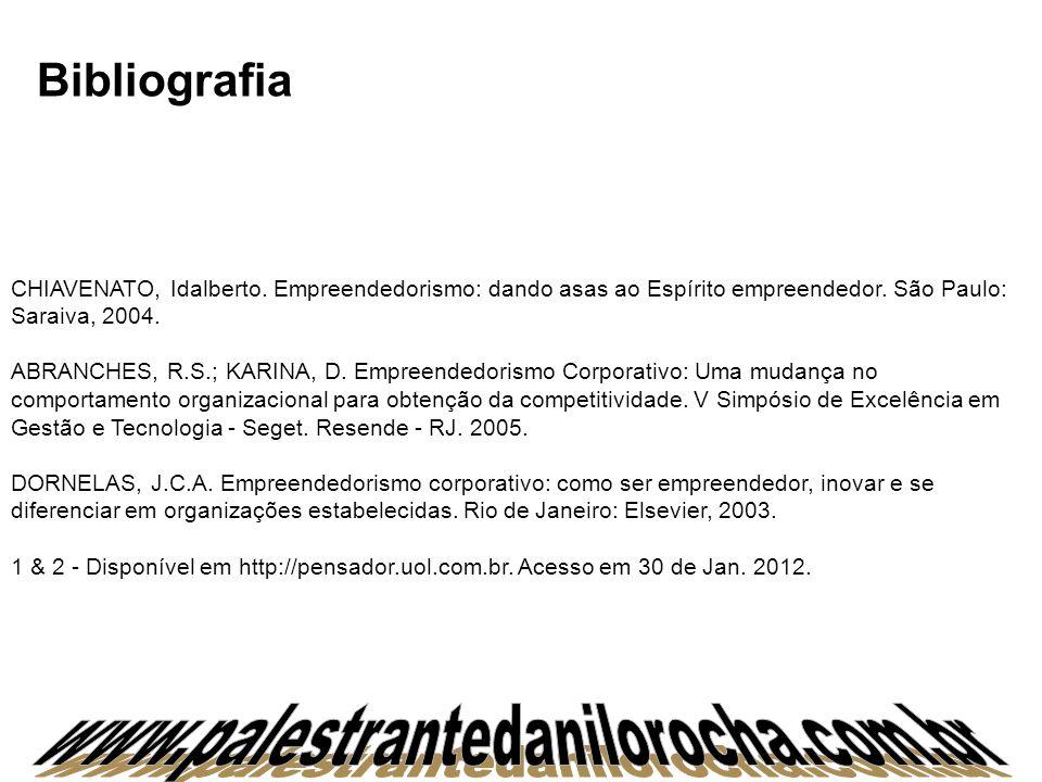 www.palestrantedanilorocha.com.br Bibliografia