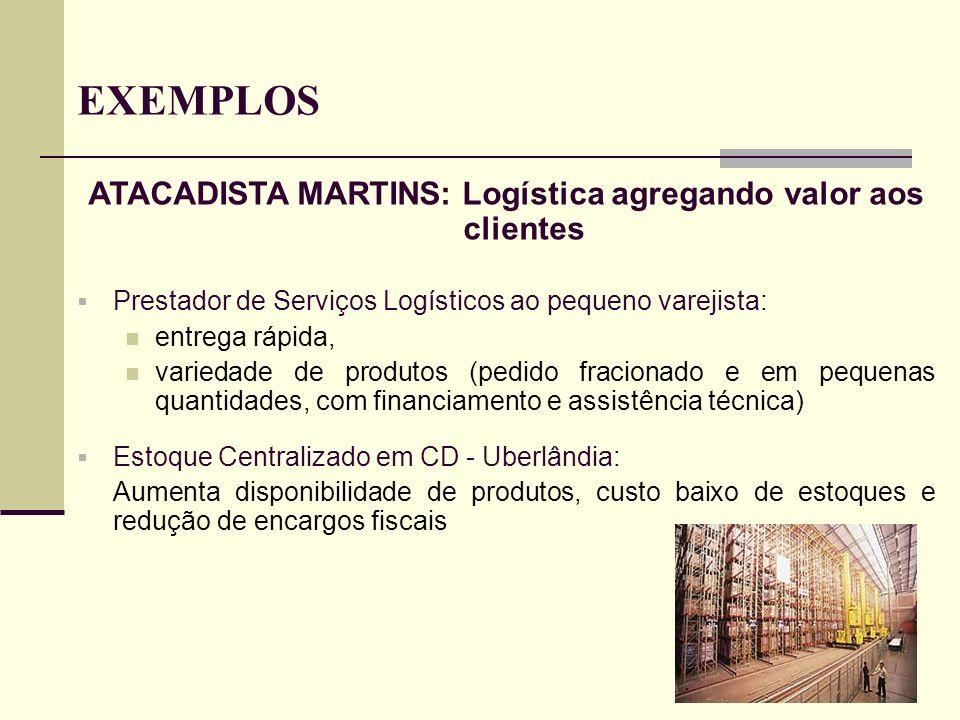 ATACADISTA MARTINS: Logística agregando valor aos clientes
