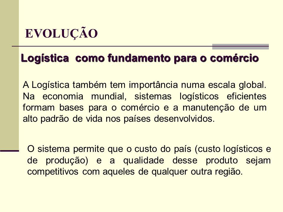 Logística como fundamento para o comércio