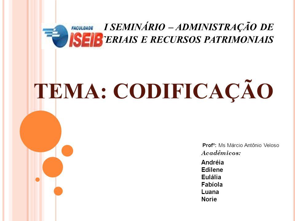 Acadêmicos: Andréia Edilene Eulália Fabíola Luana Norie
