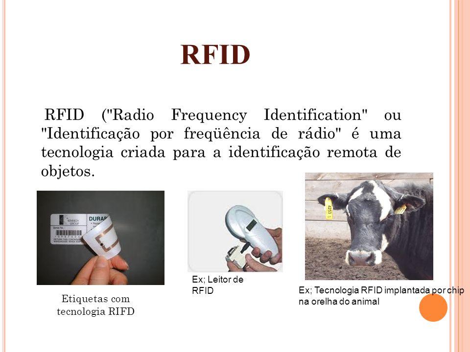 Etiquetas com tecnologia RIFD