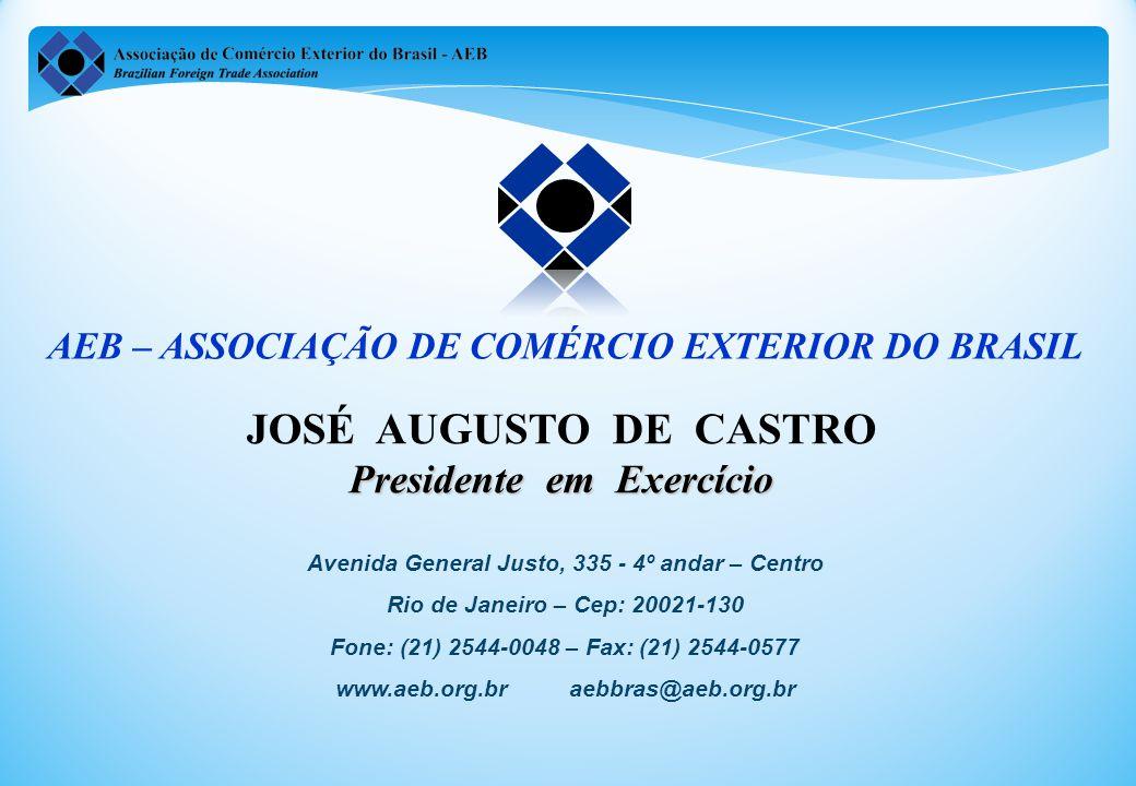 JOSÉ AUGUSTO DE CASTRO Presidente em Exercício
