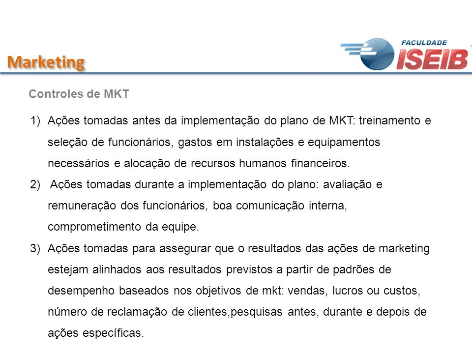 Marketing Controles de MKT