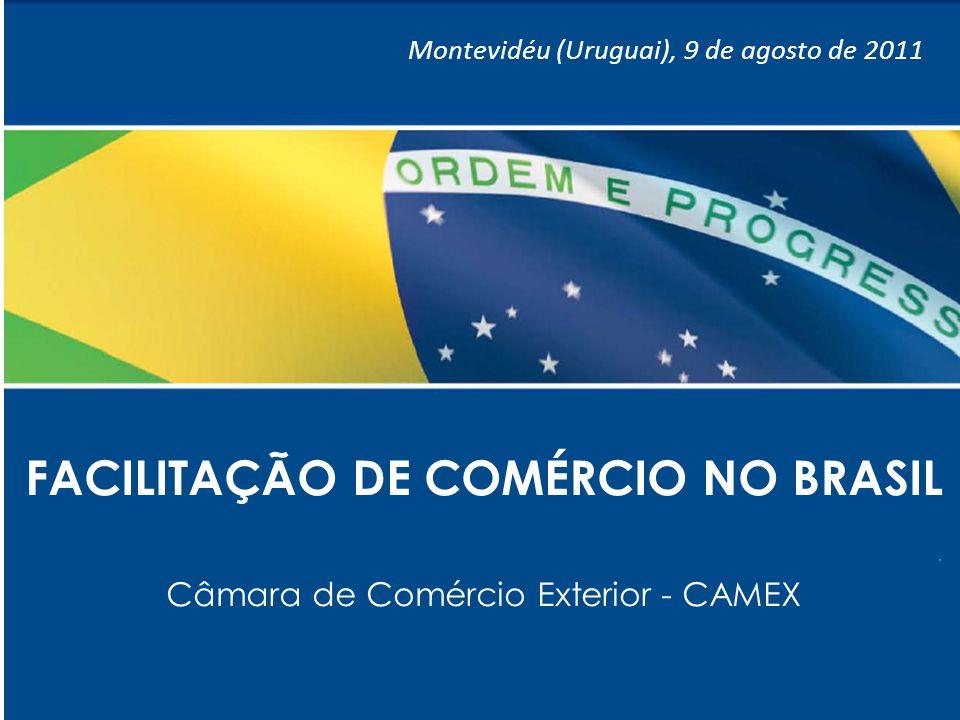 FACILITAÇÃO DE COMÉRCIO NO BRASIL