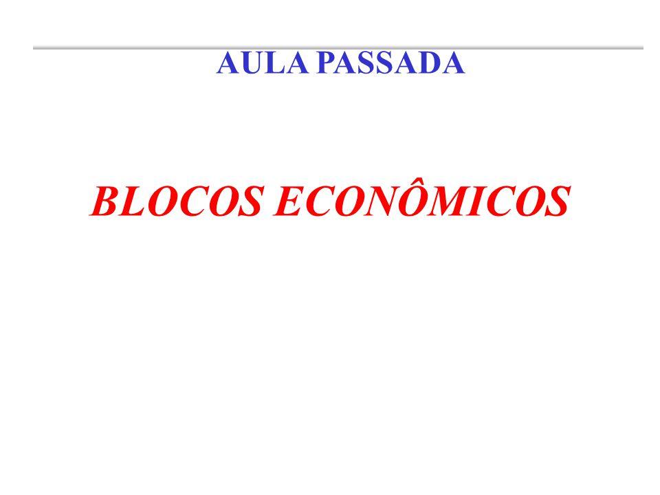 AULA PASSADA BLOCOS ECONÔMICOS
