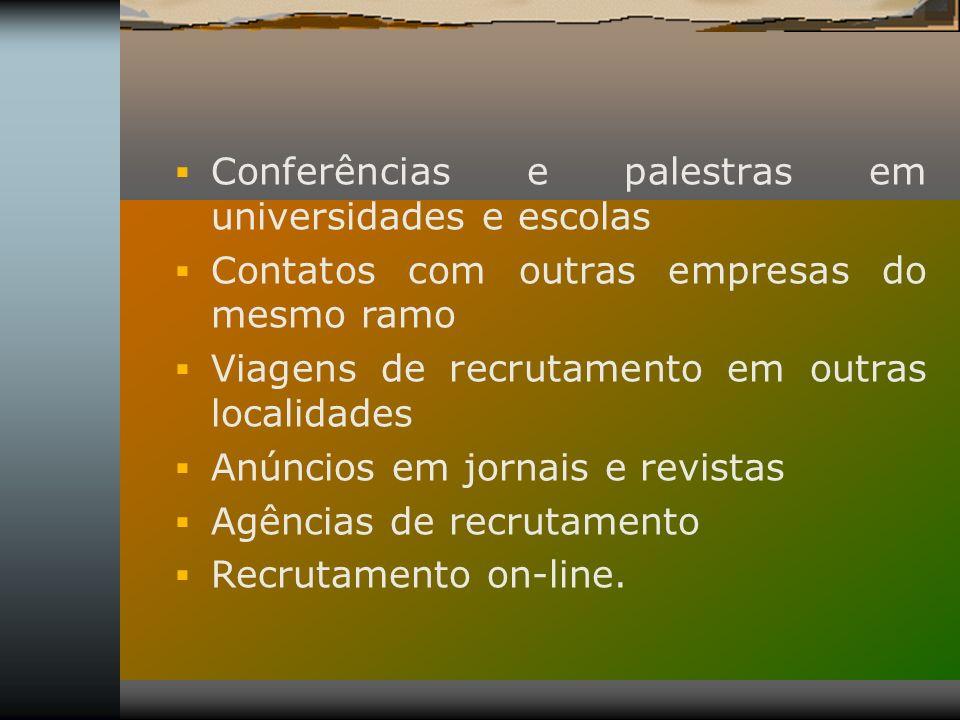 Conferências e palestras em universidades e escolas