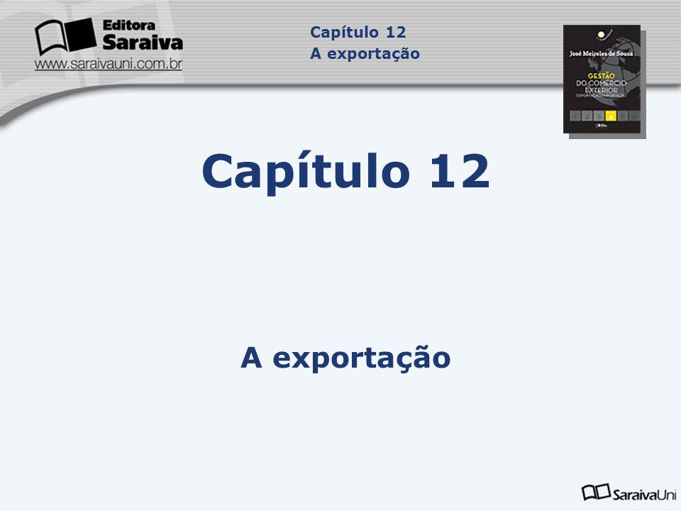 Capítulo 12 A exportação Capítulo 12 A exportação