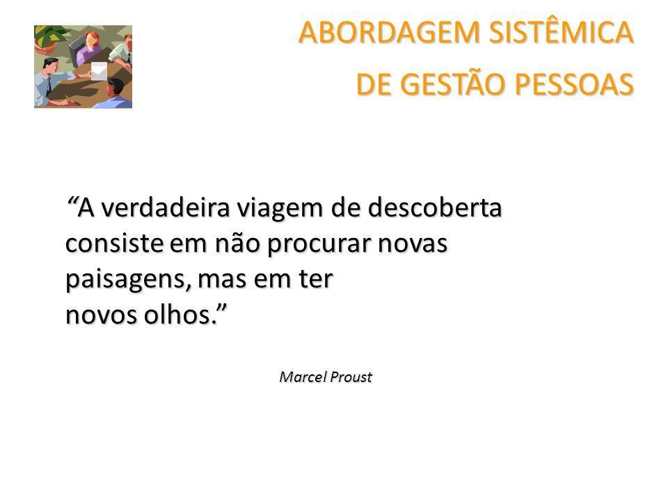 ABORDAGEM SISTÊMICA DE GESTÃO PESSOAS