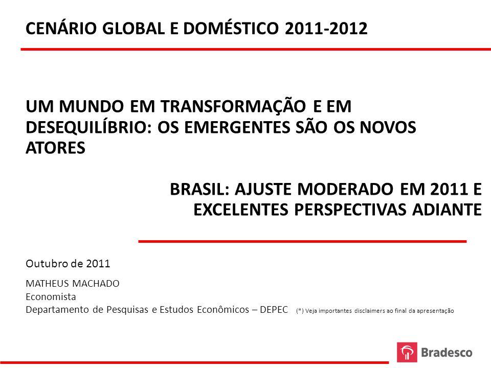 CENÁRIO GLOBAL E DOMÉSTICO 2011-2012