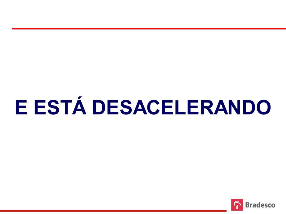 E ESTÁ DESACELERANDO 35