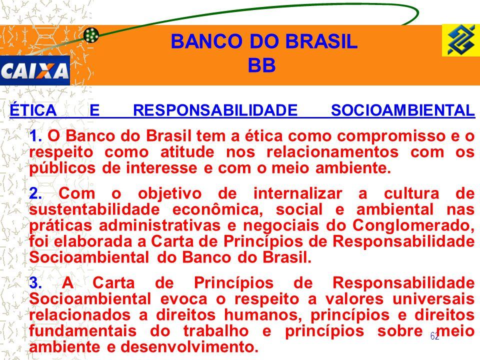 BANCO DO BRASIL BB.