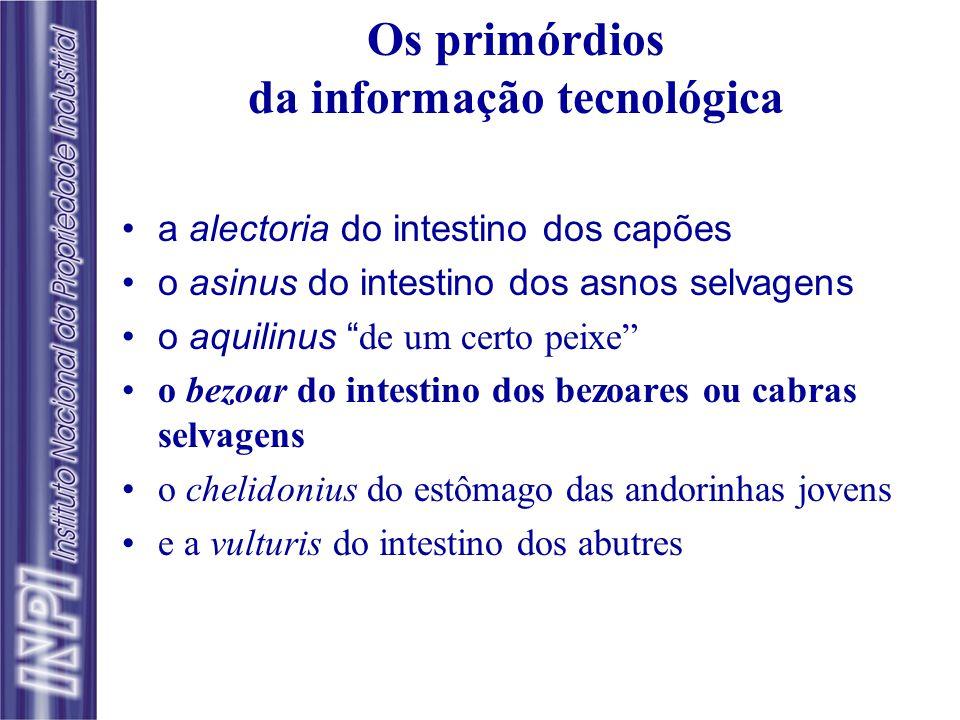 Os primórdios da informação tecnológica