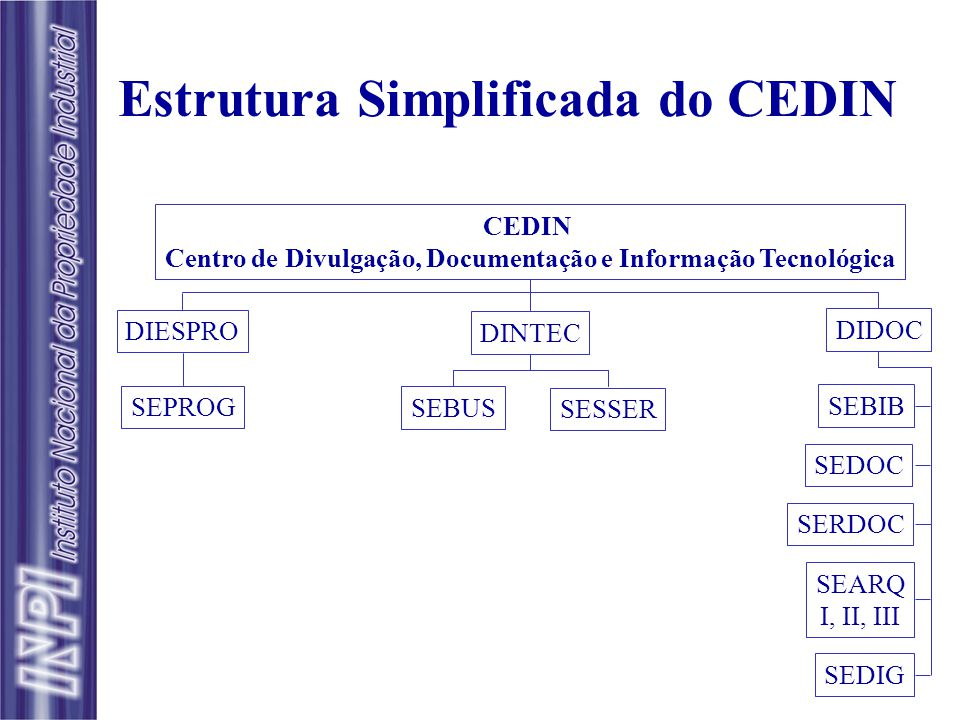 Estrutura Simplificada do CEDIN