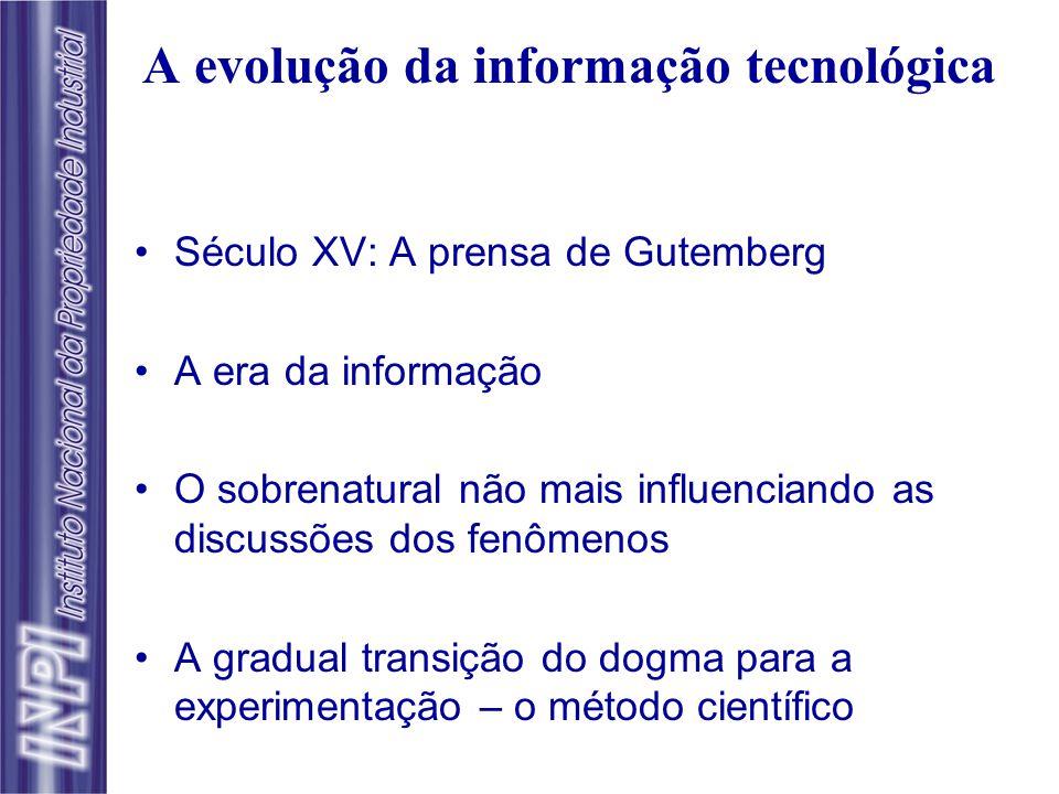 A evolução da informação tecnológica