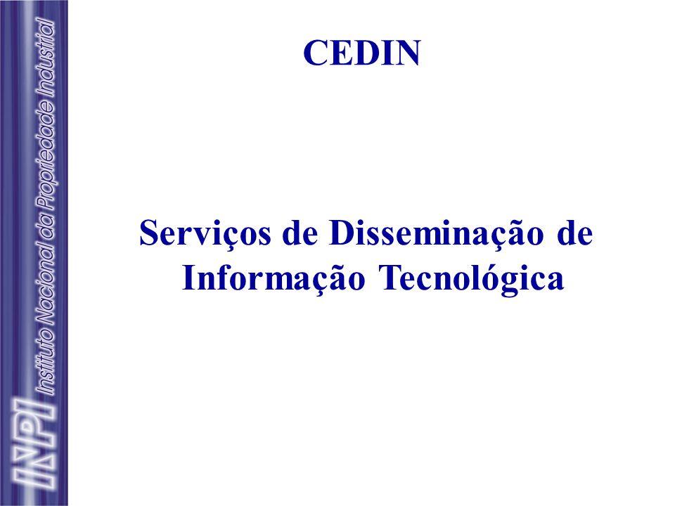 Serviços de Disseminação de Informação Tecnológica