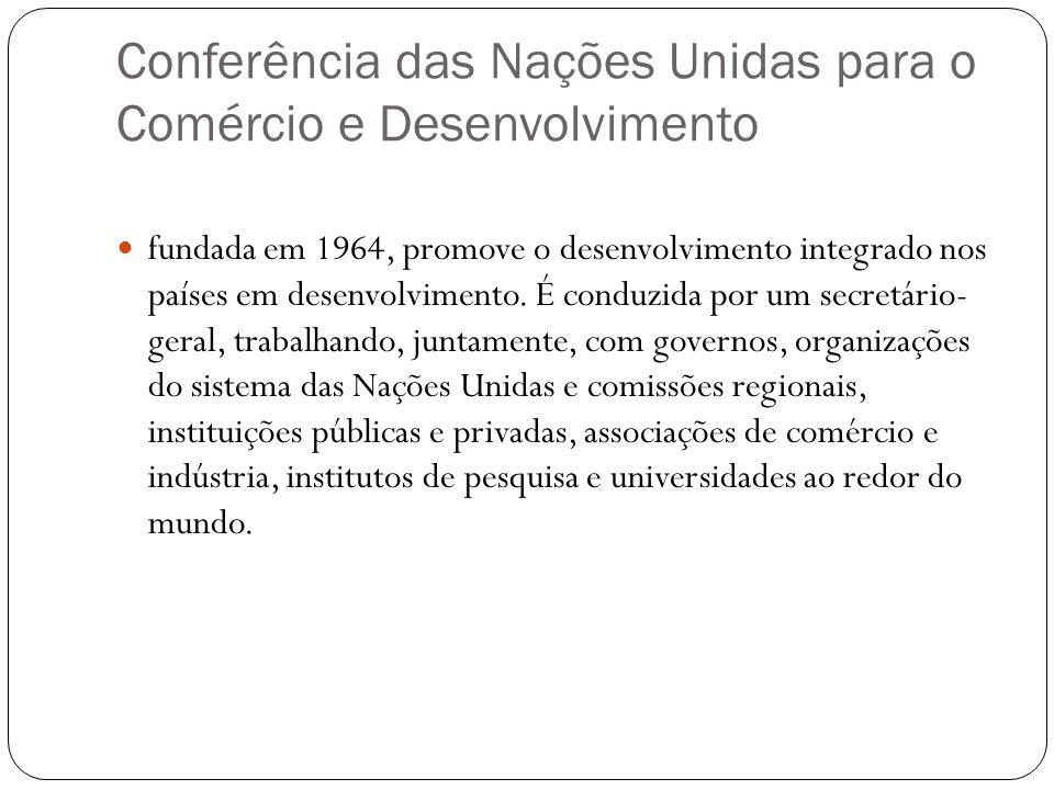 Conferência das Nações Unidas para o Comércio e Desenvolvimento