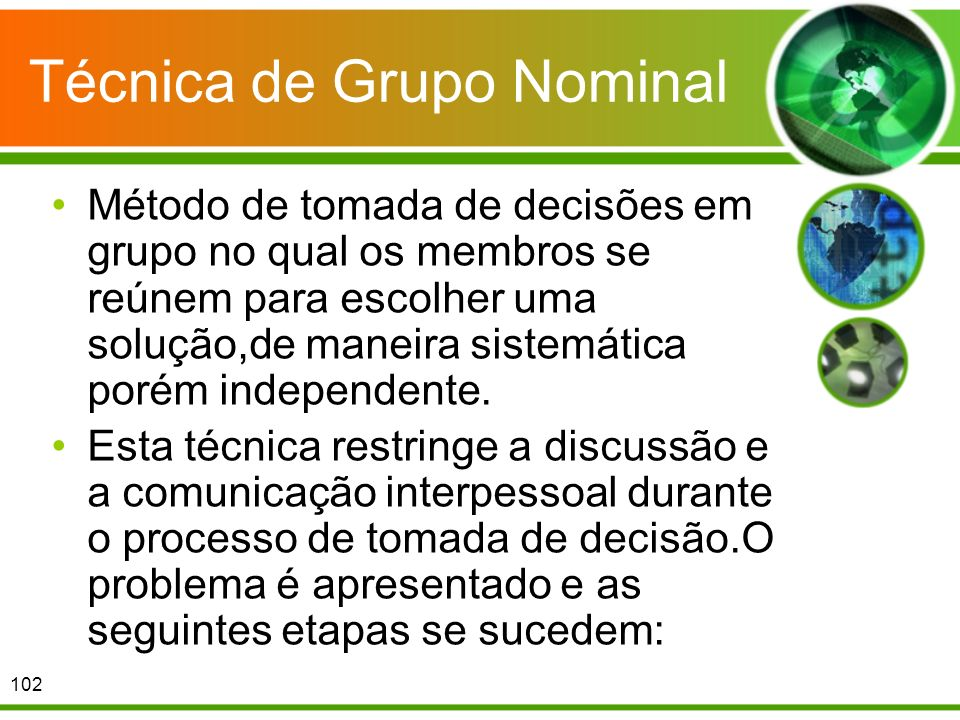 Técnica de Grupo Nominal