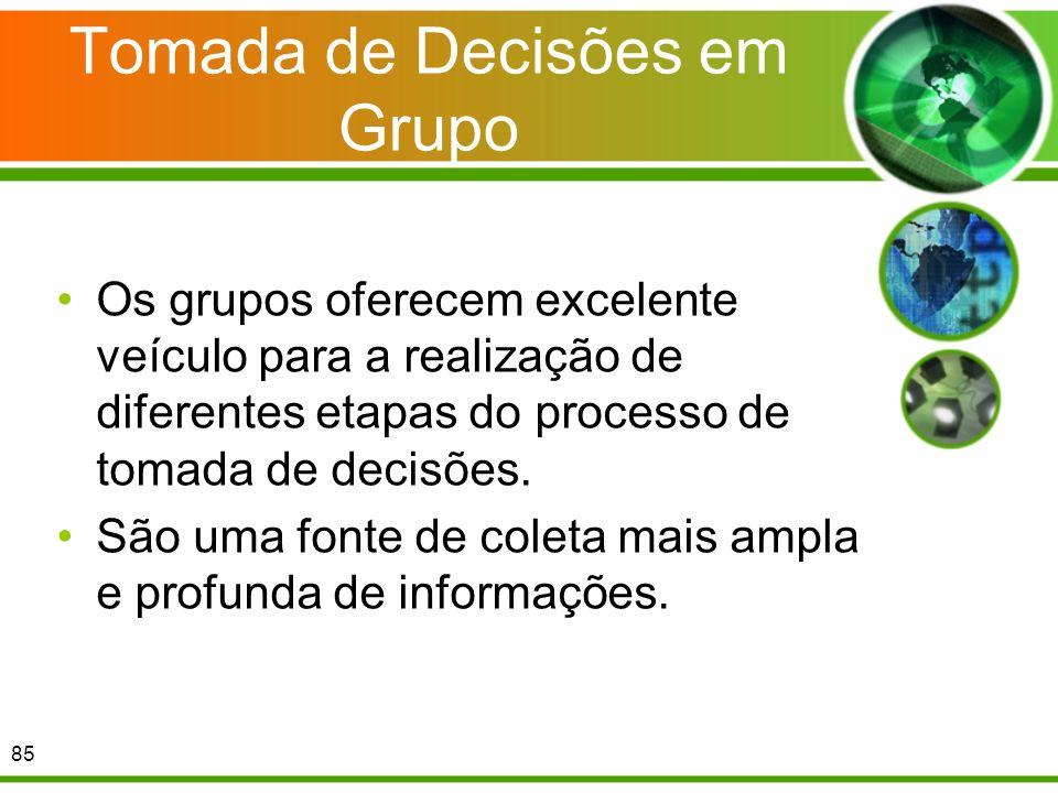 Tomada de Decisões em Grupo