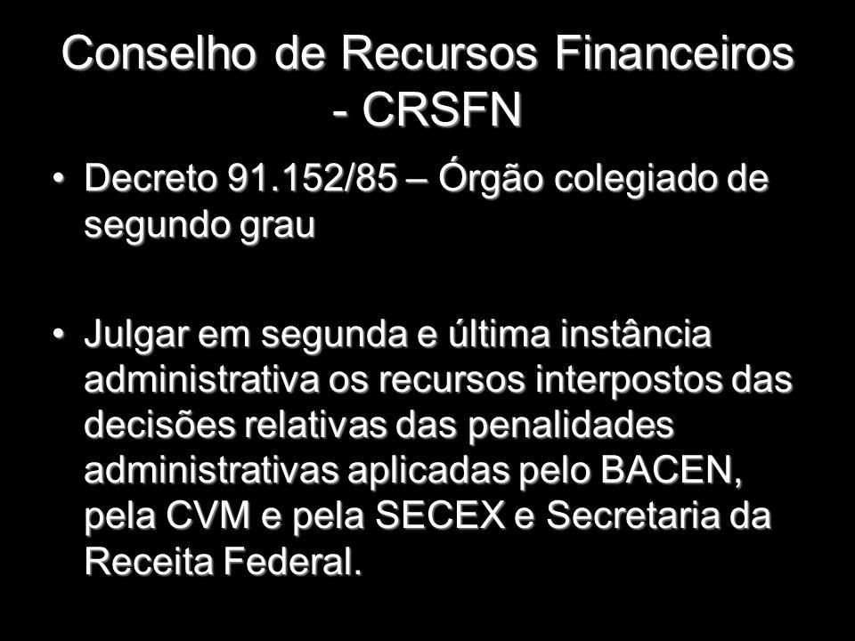 Conselho de Recursos Financeiros - CRSFN