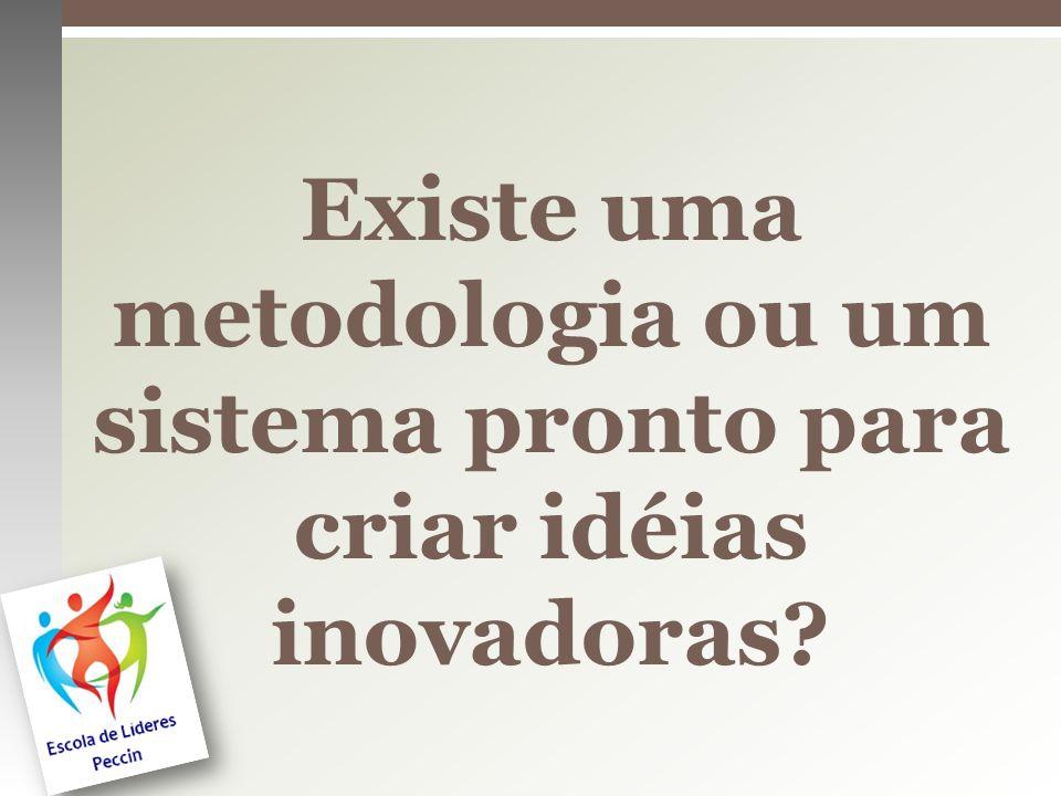 Existe uma metodologia ou um sistema pronto para criar idéias inovadoras