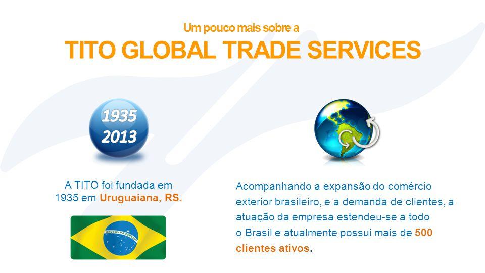 A TITO foi fundada em 1935 em Uruguaiana, RS.