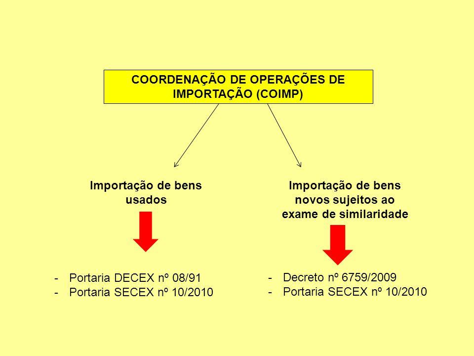 COORDENAÇÃO DE OPERAÇÕES DE IMPORTAÇÃO (COIMP)