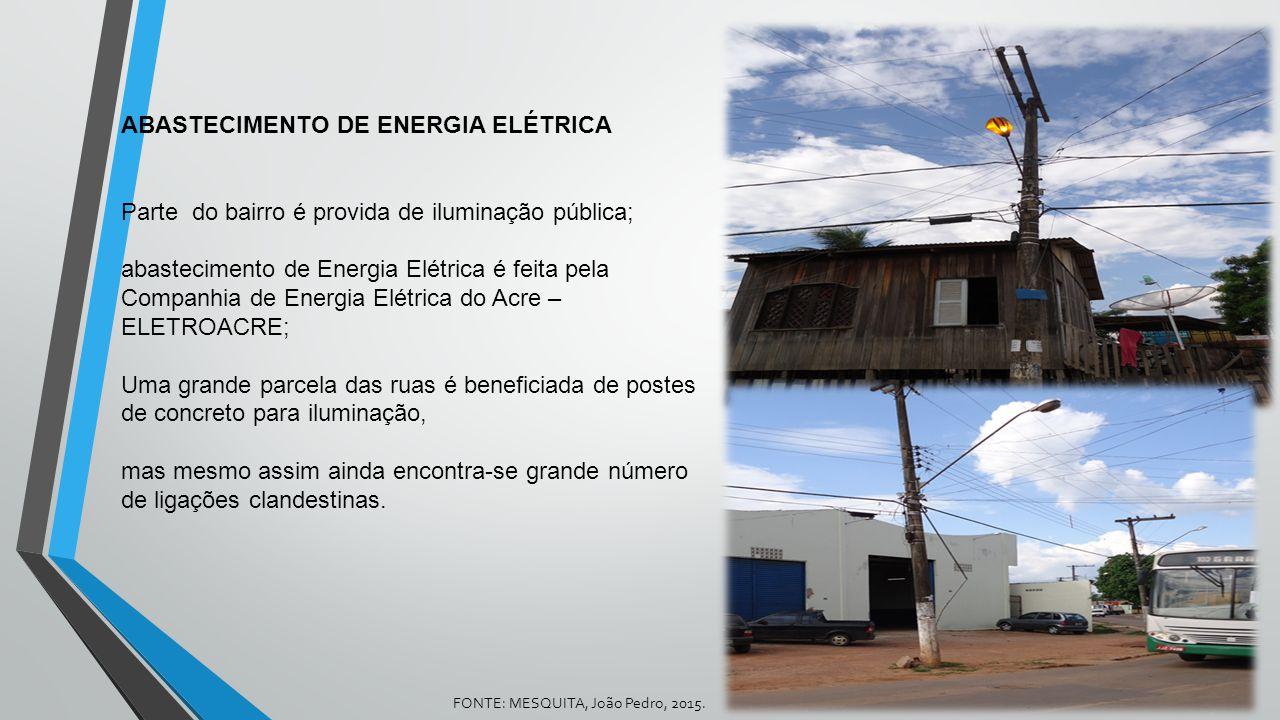 ABASTECIMENTO DE ENERGIA ELÉTRICA