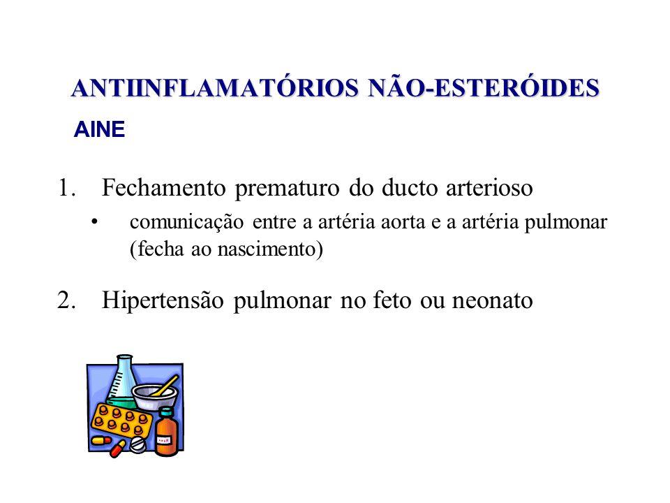 ANTIINFLAMATÓRIOS NÃO-ESTERÓIDES