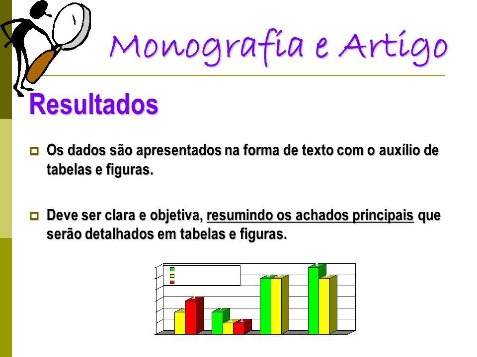 Monografia e Artigo Resultados