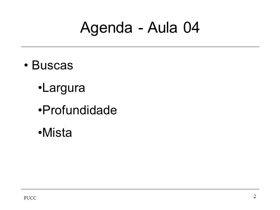 Agenda - Aula 04 Buscas Largura Profundidade Mista