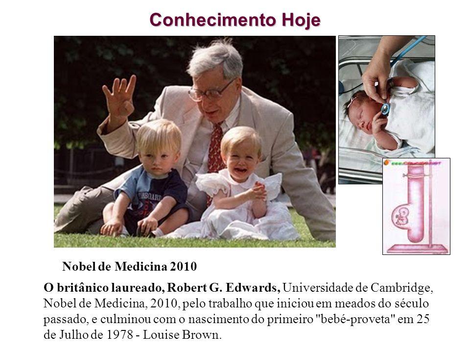 Conhecimento Hoje Nobel de Medicina 2010