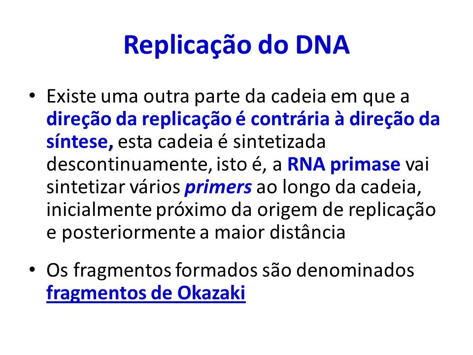 Replicação do DNA