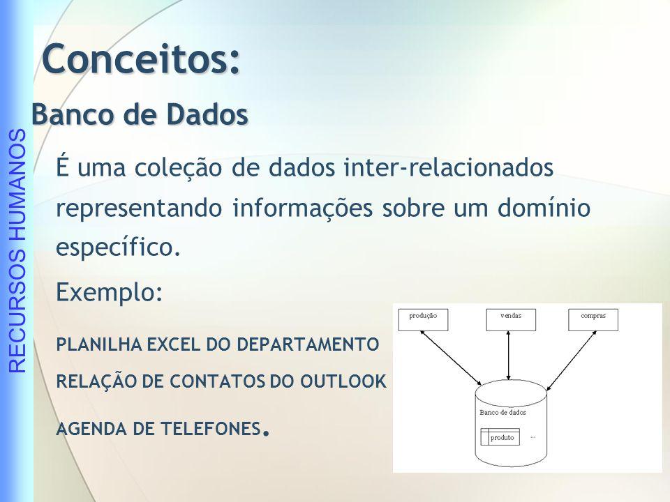 Conceitos: Banco de Dados