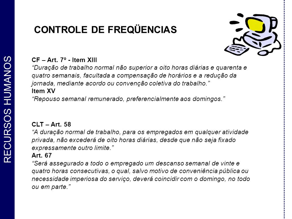 CONTROLE DE FREQÜENCIAS