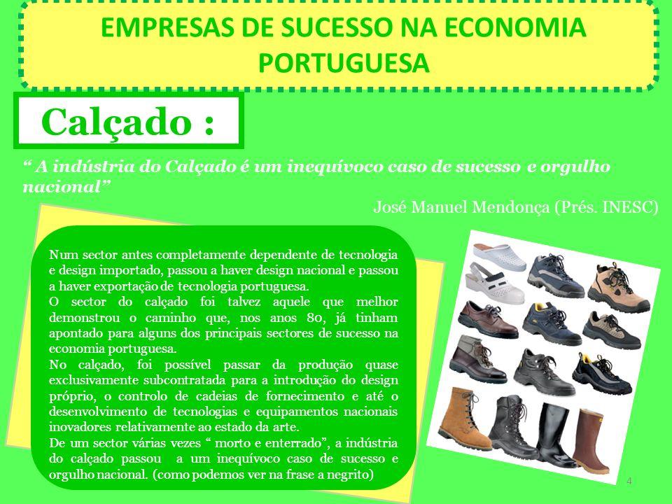 EMPRESAS DE SUCESSO NA ECONOMIA PORTUGUESA