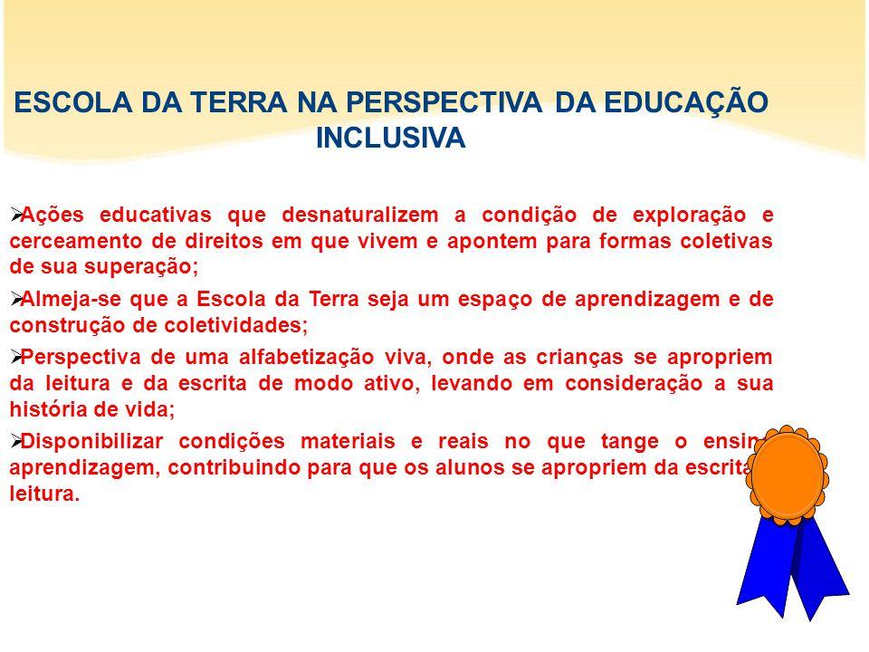 ESCOLA DA TERRA NA PERSPECTIVA DA EDUCAÇÃO INCLUSIVA