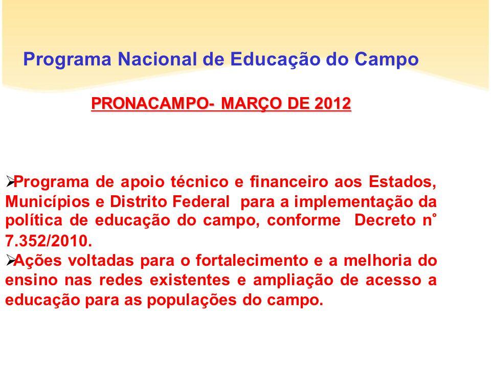 Programa Nacional de Educação do Campo