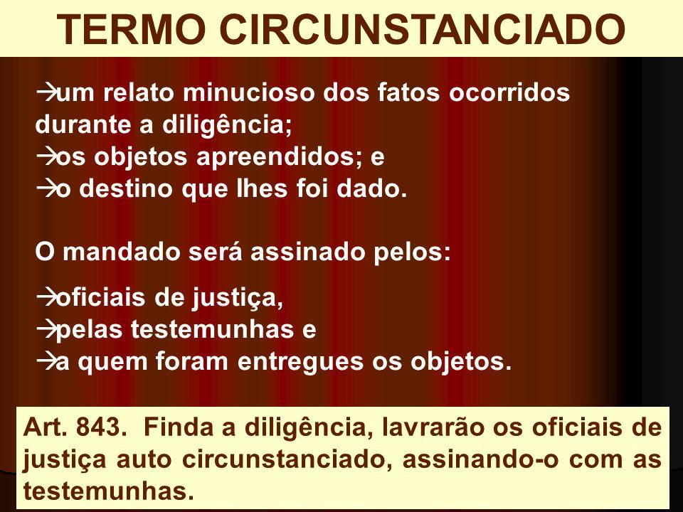 TERMO CIRCUNSTANCIADO