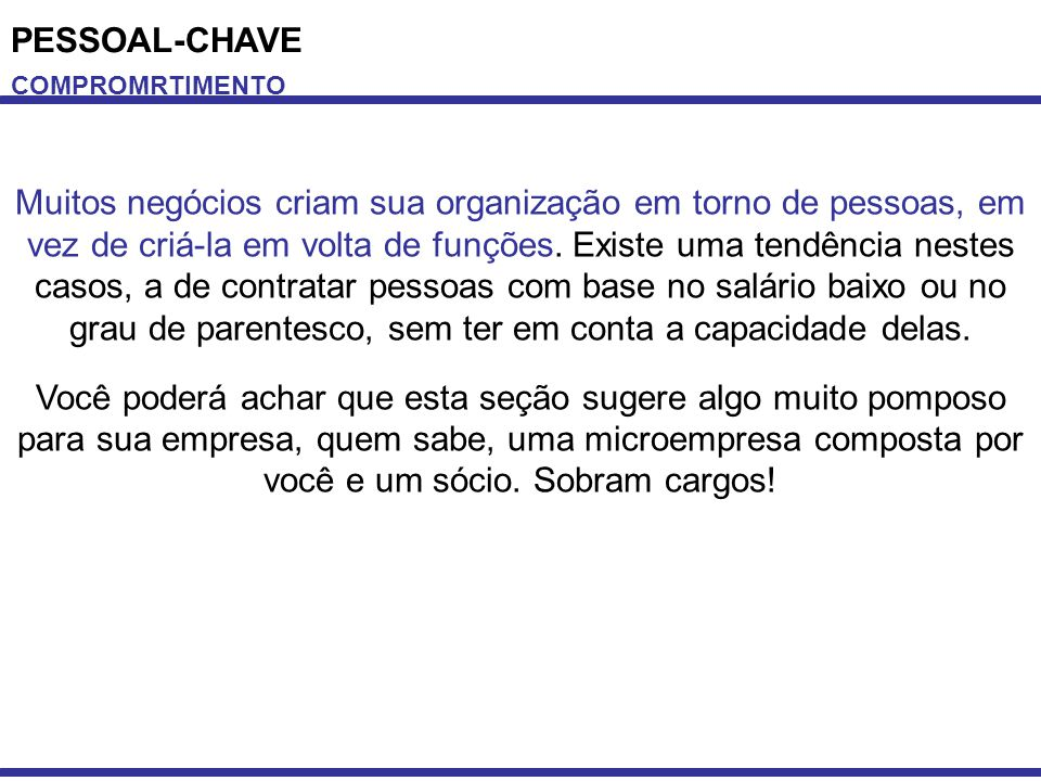 PESSOAL-CHAVE COMPROMRTIMENTO.