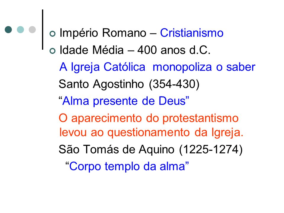Império Romano – Cristianismo