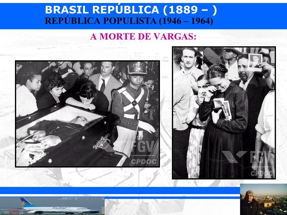 A MORTE DE VARGAS: