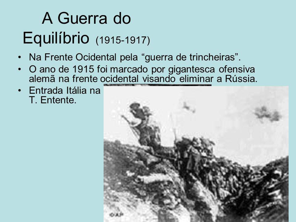 A Guerra do Equilíbrio (1915-1917)