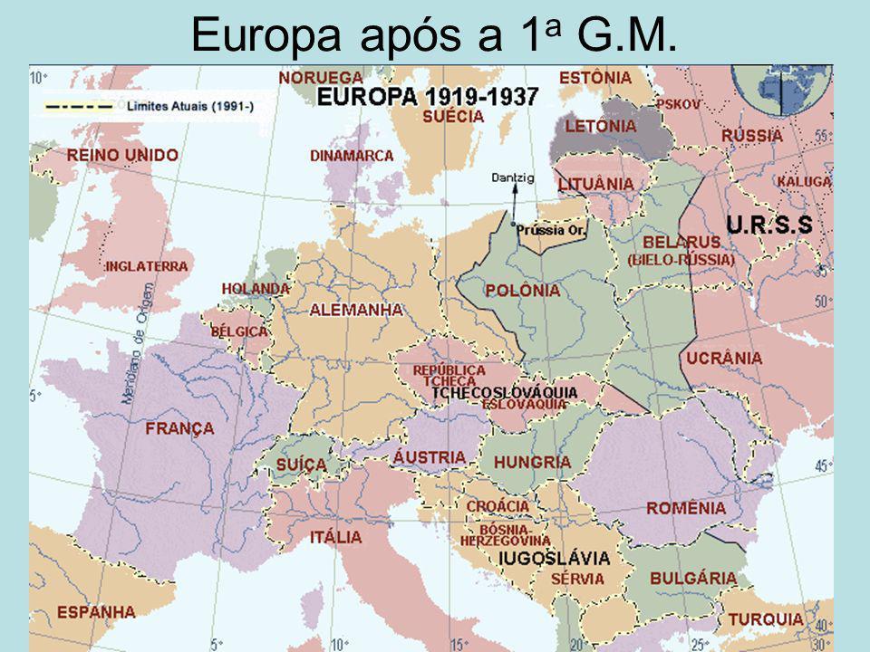 Europa após a 1a G.M.