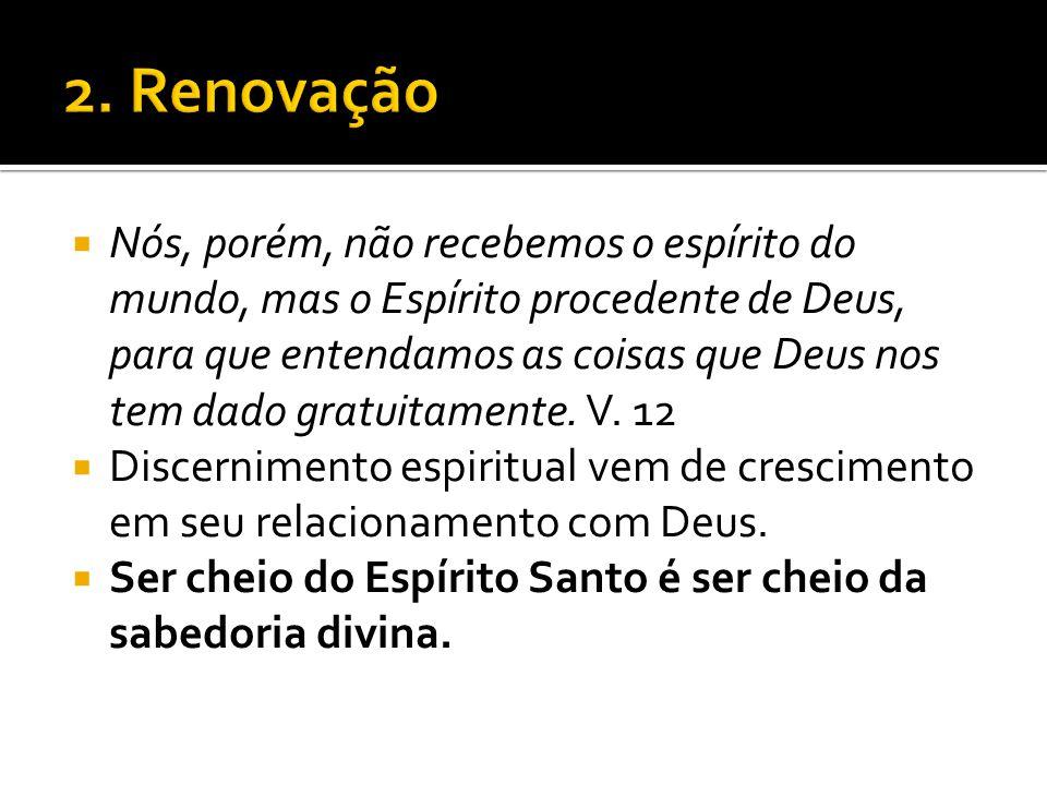 2. Renovação